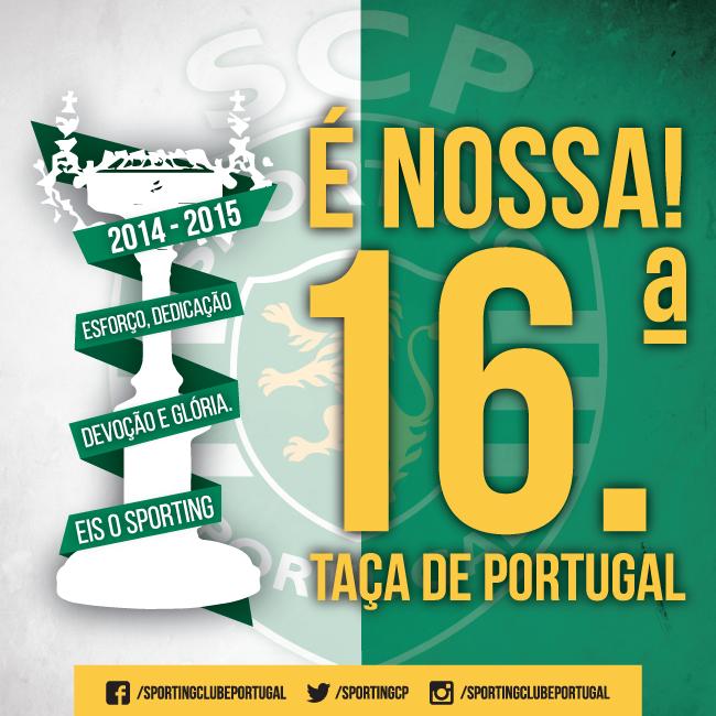 Taça de Portugal 2015!