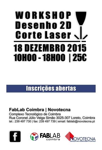 Workshop | Desenho 2D e corte laser
